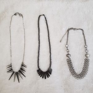 NWOT! 3 beautiful necklaces; 1 is hematite